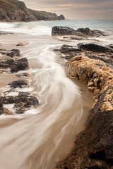 Rinsey (Julian Barker) Tags: sea motion blur rock coast long exposure cornwall shoreline rinsey