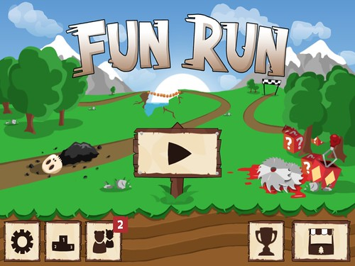 Fun Run - Multiplayer Race Main Menu: screenshots, UI