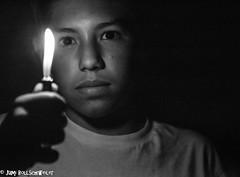 Night Light (cuddleupcrafts) Tags: light boy portrait night photography flame flicker