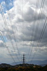 Wires to Mountains (Pedestrian Photographer) Tags: california santa mountains beer lines los power angeles walk may monica electrical crawl monthly verdugo tujunga ribbet sunland 2016 dsc2686 dsc2686b