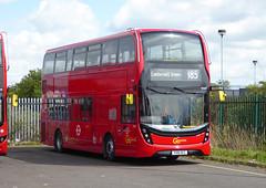 GAL EH47 - YX16OCC - OSF - BV BELVEDERE BUS GARAGE - FRI 29TH APRIL 2016 (Bexleybus) Tags: new bus london buses ahead garage go 400 belvedere dennis mmc bv enviro adl goahead eh47 yx16occ