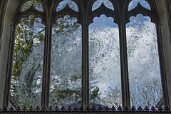 The Galaxy Window (hippyczich) Tags: church window glass whistler galaxy dorset stnicholas engraved purbeck moreton