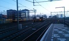 3_1749+7376 en 1756+7342_16012015 (YouHe96) Tags: sunrise photography fotografie eisenbahn trains alkmaar treinen zge 1756 dubbeldekker ddar 7376 1749 7342 dopplestock ns1700 dubbeldeksagloregio