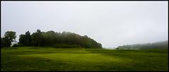 Evje Golf Course, Norway. (fotografier/images) Tags: leica fog golf flag 28mm golfcourse summilux evje leicaq evjesund evjegolfcourse