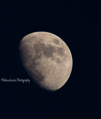 Amazing view of the moon during our stay in Cornwall (RebeccaLouise Photography) Tags: moon space craters darkside astrology astronomers spacephotography