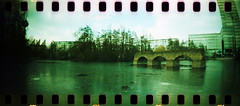 Sprocket Rocket in Cologne (somekeepsakes) Tags: film analog germany deutschland lomo xpro crossprocessed europa europe cologne kln analogue mediapark 2012 sprockets perforation sprocketrocket lomographyxpro200