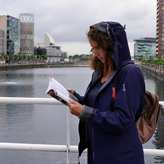 Reader 66 (Researching Media) Tags: reader salfordquays jonathanschofield