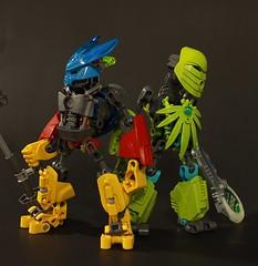 Group (Maqdaddio) Tags: cute robot lego trans bionicle mecha moc tamaru bzpower