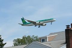 IMG_2506 (wmcgauran) Tags: boston airplane airport aircraft aviation boeing bos aerlingus 757 eastboston kbos eicjx