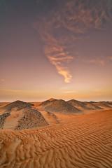 Liwa Desert (leguico) Tags: hdr aurorahdr desert landscape outdoor sunset sand