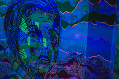 IMG_6589 (CassinStacy) Tags: new mystery museum mexico wolf neon spooky fantasy meow fe trippy sante