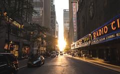 (KevinEi(XE-2)) Tags: new york city sun radio center rockefeller