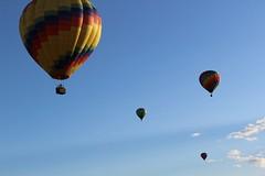 IMG_1399 (thehachland) Tags: sunset fire flames balloon hotairballoons ballstonspa saratogacounty saratogacountyfairgrounds saratogaballoonandcraft