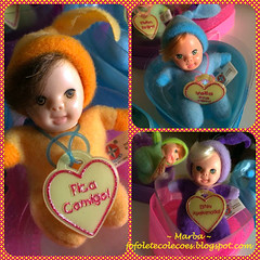 Fofolete Corao Estrela (~Marba~Furtado~) Tags: vintage doll boneca coracao fofolete brinquedosestrela bonequinha beandoll toycollection tinydoll toycollector