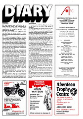 Aberdeen vs Airdrieonians - 1981 - Page 7 (The Sky Strikers) Tags: official stadium scottish aberdeen division done premier programme 30p airdrie the pittodrie airdrieonians
