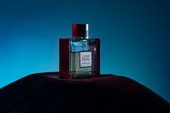 L'Homme IDEAL (Negens) Tags: advertising photography perfume sony flash commercial fresnel ideal product gel gelatine fragrance jinbei guerlain lhomme a77v