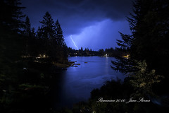 June Storm (sigimphoto) Tags: storm nature danger rumble darkness flash lightning thunder lakemargaret