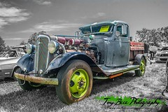 1936 Chevy (Tony Baca Photography) Tags: classic chevrolet truck vintage photography chevy transportation carshow selectivecolor automotivephotography coloradophotographer