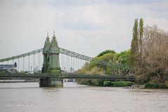 Spanning (shirley319) Tags: uk england london water thames unitedkingdom may hammersmith hammersmithbridge 2016 d600