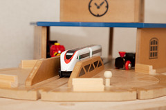 BRIO (congaragata) Tags: train toy diy turntable brio traindepot canonef24105mmf4lisusm canon5dii