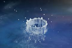 Water droplet. (T-Gauthier) Tags: stilllife splash waterdroplets stopmotion splashing stopmotionphotography splashphotography