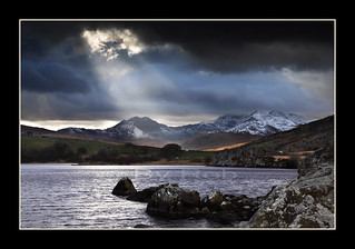 Snowdon searchlights