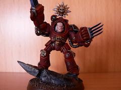 Temon - Terminator Sergeant (MaxNerb) Tags: flesh games workshop tearer