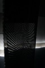 White Dots Columns