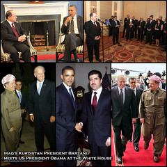 Iraq's Kurdistan President Barzani meets US President Obama at the White House (Kurdistan Photo ) Tags: white house us iran president iraq airlines obama turkish meets turk kurdistan irak barzani kurd barack newroz  iraqs  turkye warplanes peshmerga peshmerge