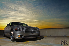 2012 Charger (Nick Russett) Tags: lighting camera sunset car canon photography photo off 7d dodge 17 40 1740mm charger 1740 strobe 2012