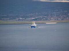 Mussel dredging (divnic) Tags: ireland sea boat ship belfast northernireland ni fishingboat countyantrim irishsea belfastlough belfastloch musseldredging