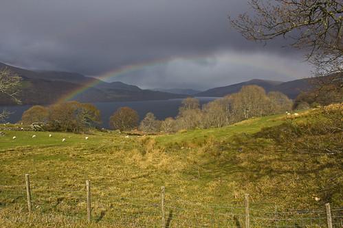 Loch Tay rainbow