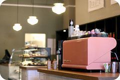 Day 1 - Mr Milton's Canteen (Jaime Carter) Tags: pink newzealand food coffee project 1 cafe counter pastel hamilton day1 waikato espresso canteen lamps milton 31 month 2012 thirtyone alexandrastreet cmwd cmwdpink jaimewalsh may2012 jaimecarter 1photoadayinmay 1may2012 mrmiltonscanteen