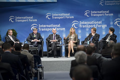 A panel underway at the Congress Center Leipzig