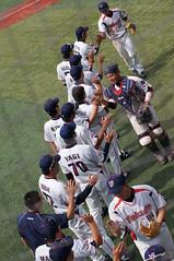 DSC04392 (shi.k) Tags: 横浜スタジアム 東京ヤクルトスワローズ 120608 イースタンリーグ ハイタッチ