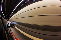 Passing the Tunnel (Kristian Hedberg) Tags: motion cars car canon eos tunnel automotive fisheye bil 5d tunnels oresund markii resund resundsbron bilar rrelse tunnlar oeresund oeresundsbron oresundsbron canoneos5dmarkii resundsfrbindelsen resundsbrofrindelsen