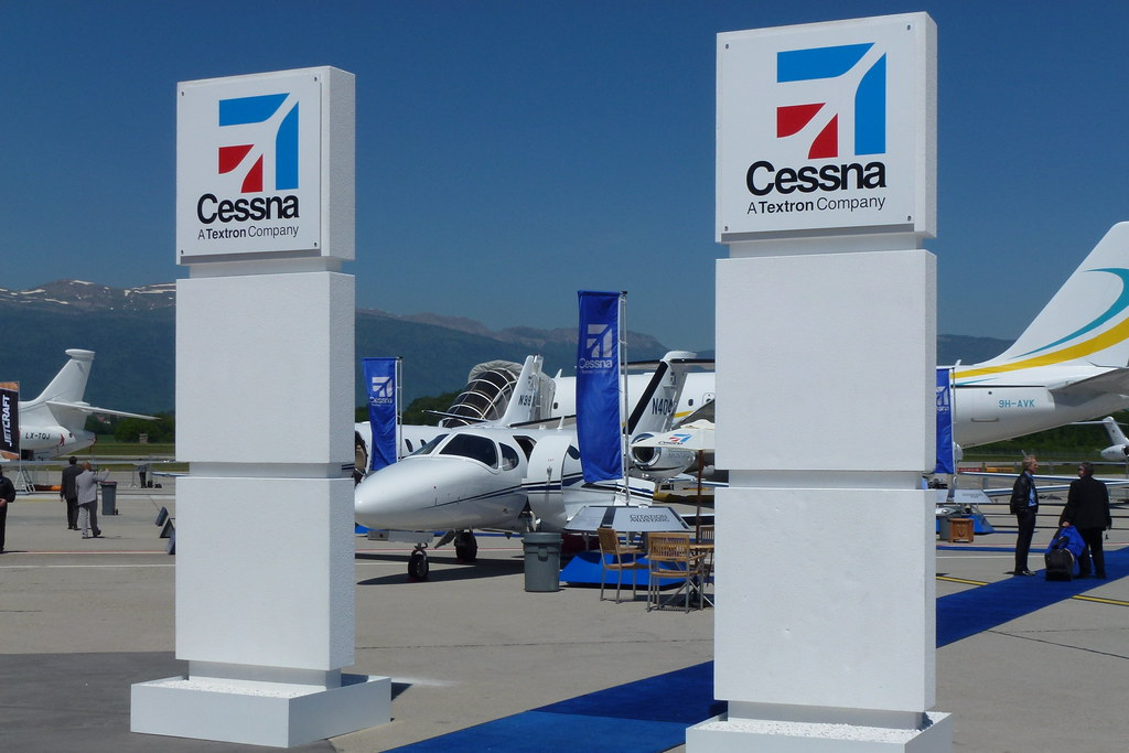 Cessna Static Display EBACE 2012