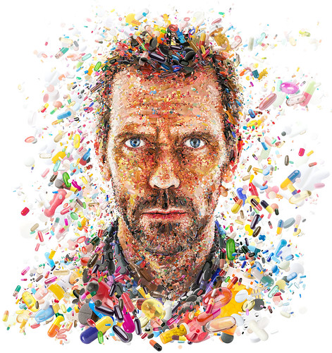 Hugh Laurie: The House ...of pills (for TV Guide) / Charis Tsevis