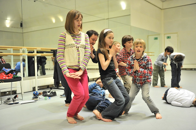 "Action from the Royal Opera House Education Sleepover held as part of European Opera day on 15 May 2012.  <a href=""http://www.roh.org.uk/news/sleepover-at-the-opera-house"" rel=""nofollow"">www.roh.org.uk/news/sleepover-at-the-opera-house</a> Photo by Brian Slater."