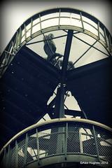 Kew - Stairs (Rednaxela13) Tags: people bw kewgardens monochrome kew canon eos mono objects manmade tamron botanicalgardens royalbotanicalgardens alexhughes 60d canoneos60d tamron70300mmvc ©alexhughes alexanderhughes