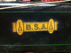 (pyoorkate) Tags: bicycle 1930s decal transfer bsa