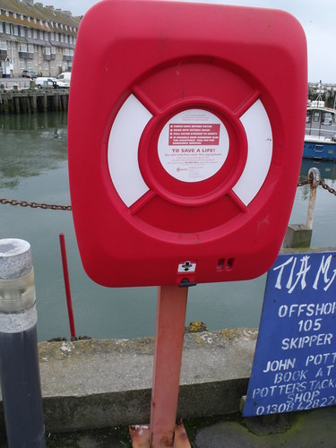 West Bay - Harbour - life buoy