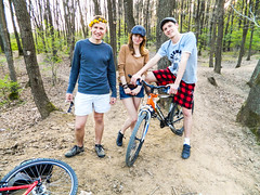 Wood (wentuq) Tags: trip bike europe poland hitchhike autostop malopolskie brzesko