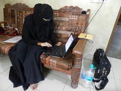 Nikhat Perween, wife of Fasih Mehmood (TwoCircles.net) Tags: hijab email niqab