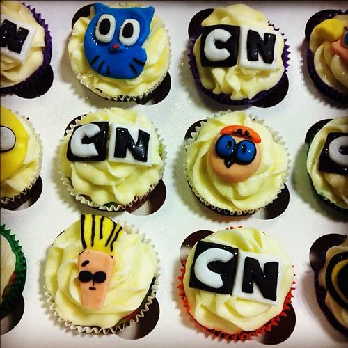 Cartoon Network Cupcakes