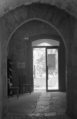 1324.The vaults (Greg.photographie) Tags: door blackandwhite bw 35mm 50mm noiretblanc kodak tmax 50mm14 epson miranda 400iso vaults xtol sensorex voutes v500 24x36
