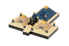 Temple of Anubis (pasukaru76) Tags: temple lego egypt anubis moc canon100mm microscale