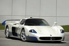 MC12 (Ian Jones Photography) Tags: blue white car race italian ferrari exotic enzo expensive supercar mc12 maserati trident v12