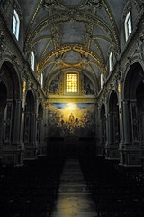 Heavenly light (mikael_on_flickr) Tags: light church painting licht heaven interior himmel chiesa monastery cielo luce monastero montecassino benedictinemonastery heavenlylight