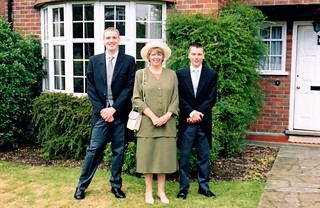 July.2001- Going to Garden Party